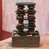 Eternity Tabletop Fountain - Stacked Rocks