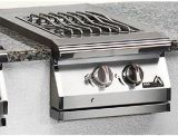 Built-In Dual Side Burner Kit for Legacy Masonry - Liquid Propane