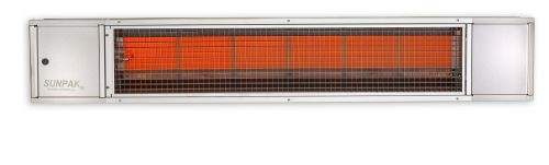 34,000 Btu Electronic Ignition Stainless Steel Heater - Natural Gas