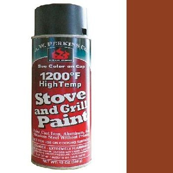 1200 Deg Stove Paint - Spray