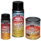 1400 Deg F Black Stove Paint Spray-On - 4.75 oz.