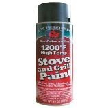 1200 Deg F High-Temp Paint Spray - Satin Black