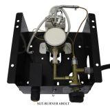 Glass Tube Burner for Square Heater with 6 Bolt - Burner Only