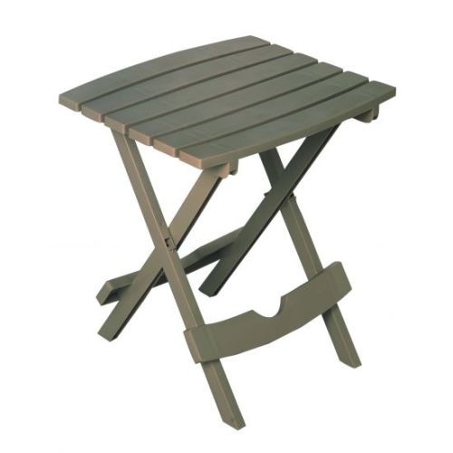 Quik-Fold Side Table in Gray