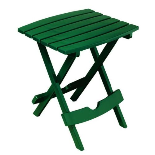 Quik-Fold Side Table in Hunter Green