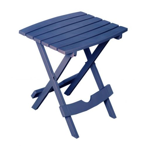 Quik-Fold Side Table in Patriotic Blue