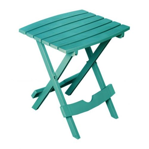 Quik-Fold Side Table in Teal