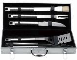 Berghoff International Cubo 6 Piece BBQ Set with Case