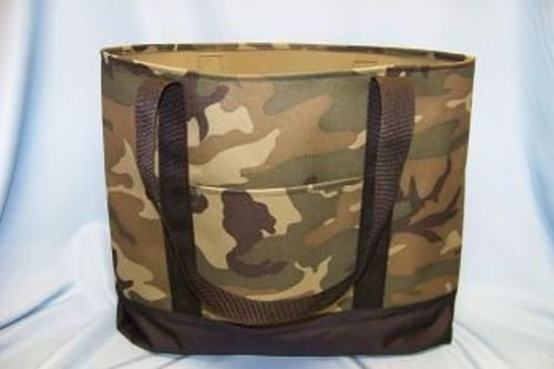 Polyester Fire Wood/Beach Tote - Camoflaugh