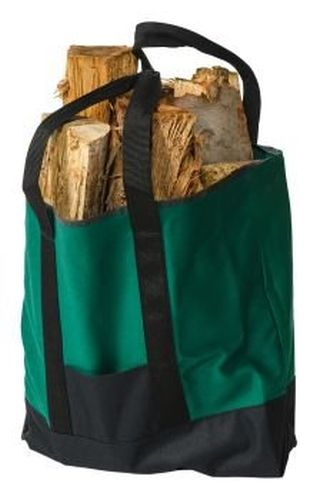 Polyester Fire Wood/Beach Tote - Forest Green