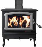 40.9K BTU NC Wood Burning Stove w/ Pewter Door and Reg. Black Legs