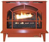 Buck Stove Townsend Ii Vent Free Steel Stove in Terracotta - LP