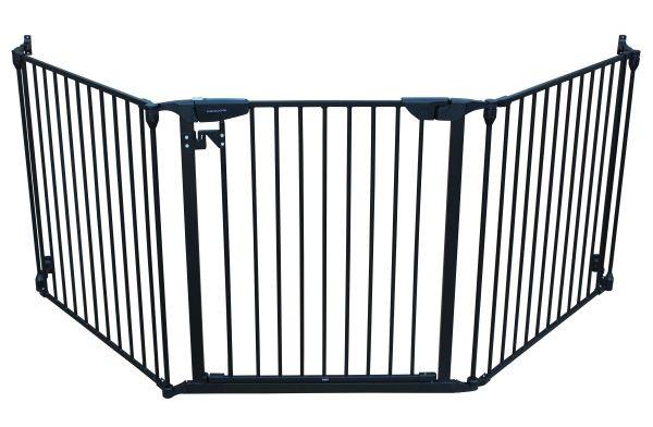 XpandaGate Extendable Gate System, Black