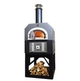 CBO-750 Hybrid Commercial 6-Piece NG Oven with Stand - Silver Vein