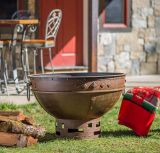 Greek Brazier Fire Pit - Wood Burning