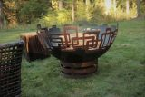 Prevailing Links Fire Pit - Wood Burning