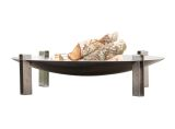 """Curonian Alna Fire Pit 31.5"""" Stainless Steel"""
