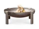 "Curonian Tilsit Fire Pit 41"" Solid Carbon Steel"