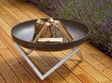 "Curonian Memel Fire Pit Large 31"" Stainless Steel"