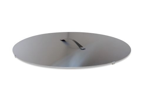 """Curonian Fire Pit Stainless Steel Cover/Lid - 31"""""""