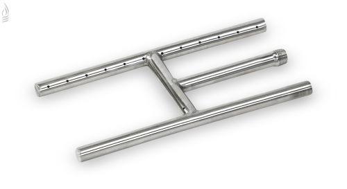 "AFG SS-H-12 Stainless Steel H-Burner - 12"" x 6"""