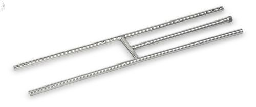 "AFG SS-H-30 Stainless Steel H-Burner - 30"" x 6"""