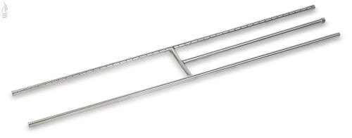 "AFG SS-H-48 Stainless Steel H-Burner - 48"" x 8"""