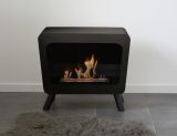Bio Blaze BB-RE-B Retro Bio-Ethanol Fuel Fireplace in Black