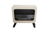 Bio Blaze BB-RE-B Retro Bio-Ethanol Fuel Fireplace in Cream