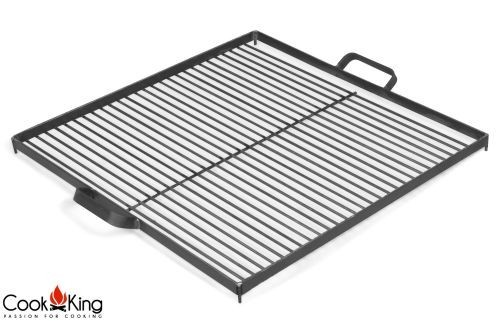 """Cook King 1112261 Black Steel Grill Grate for Fire Bowl - 19.6"""""""