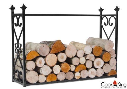"Cook King 333236 Aldi Wood Rack - 23.6"" x 35.4"" x 9.8"""