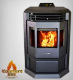 ComfortBilt HP22 Pellet Stove w/Remote Control - Metallic Black