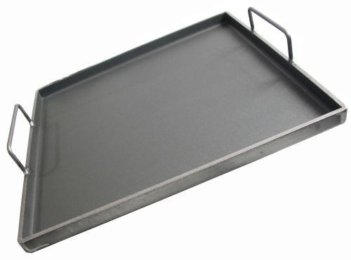 """Removeable Griddle Plate w/Handles - 21.75"""""""
