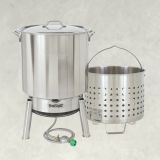 Bayou Classic KDS-982 82 Qt. Stainless Boil and Steam Kit