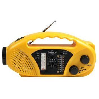 D & H Solar Radio Flashlight