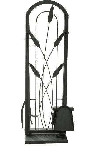 Black 5 Piece Cotton Tail Design Fireset - 30 inch