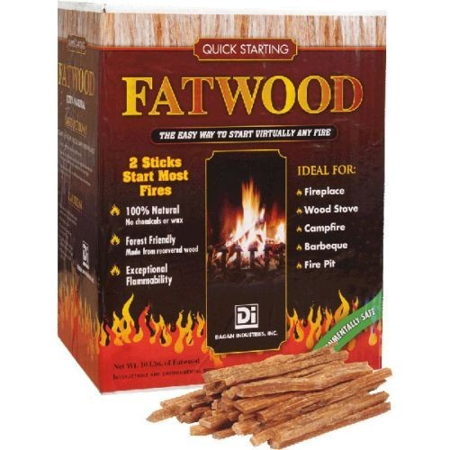 FAT-10- Fatwood Fire Starter in Box