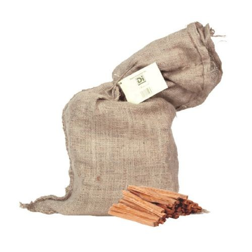 Fatwood Fire Starter in Burlap Bag