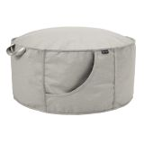 Classic Accessories Montlake Fadesafe Indoor/Outdoor Bean Bag Ottoman
