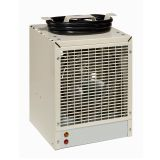 Construction Fan-forced Electric Heater - Almond