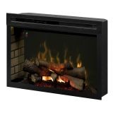 Multi-Fire XD Realogs Electric Fireplace - 33 inch