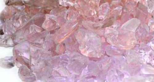 "Enhance A Fire PI75-FG 3/4"" Crushed Glass - Pink Ice"