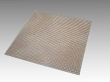 "10"" x 10"" Non-Stick Flat Mesh with Raw Edge - Wide Mesh, 4.4mm Spacing"