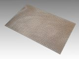 "10"" x 16"" Non-Stick Flat Mesh with Raw Edge - Wide Mesh, 4.4mm Spacing"
