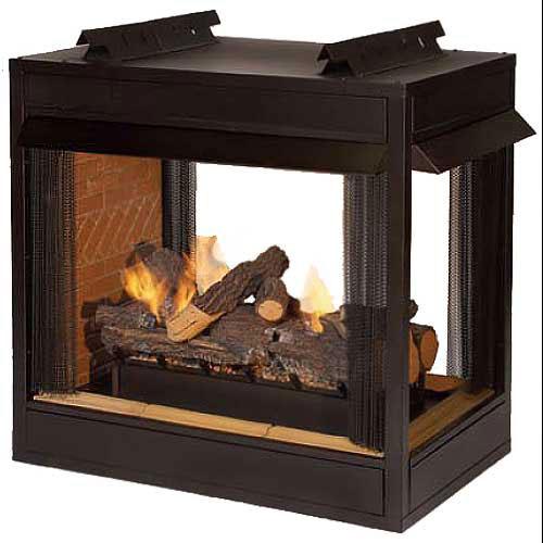 """Empire Premium VF 36"""" Peninsula Fire Box with Flush Face"""