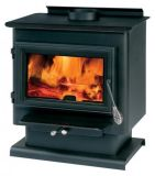 England's Stove Works ESW- 50-SNC13 Wood Stove, Ships w/Legs and Pedestal, 1200-1800 sq ft.