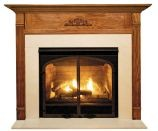 Newport MDF Primed White Fireplace Mantel Surround - 36 inch