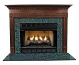 Windsor MDF Primed White Fireplace Mantel Surround - 42 inch