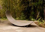 Fire Pit Art CRLR-Stainless Crescent Log Rack - Stainless Steel