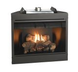"Keystone Series 34"" Deluxe B-Vent IP Flush Face Fireplace - NG"